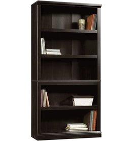 Sauder Sauder Select Collection 5-Shelf Bookcase, Estate Black finish