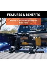 CURT CURT 16570 R24 5th Wheel Roller for Short Bed Trucks, 24,000 lbs