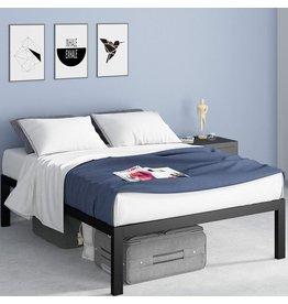 Zinus ZINUS Lorrick Metal Platform Bed Frame / Mattress Foundation / Easy, Bolt Free Assembly, Queen