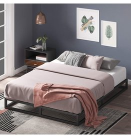 Zinus Zinus Joseph 6 Inch Metal Platforma Bed Frame / Mattress Foundation / Wood Slat Support / No Box Spring Needed / Sturdy Steel Structure, King