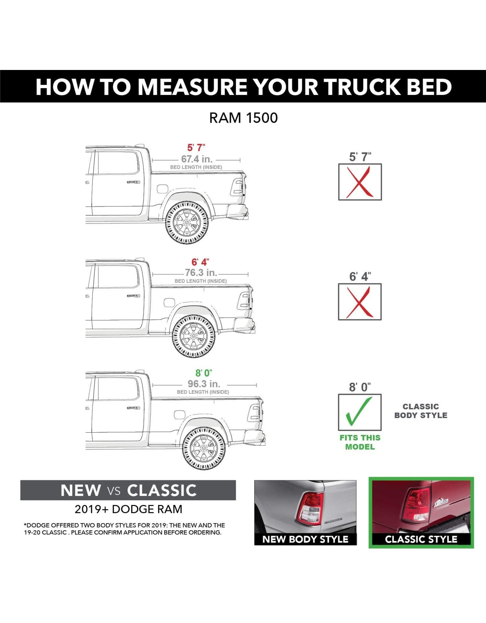extang Extang Solid Fold 2.0 Hard Folding Truck Bed Tonneau Cover  83435  Fits 09-18, 19/20 Classic Dodge RAM 1500/2500/3500 8' Bed