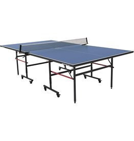 STIGA STIGA Advantage Lite Recreational Indoor Table Tennis Table 95% Preassembled Out of Box with Easy Attach and Remove Net, Blue, One Size