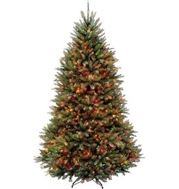 National Tree Company National Tree Company lit Artificial Christmas Tree Includes Pre-Strung Multi-Color Stand, 6.5 ft, Multicolored Lights