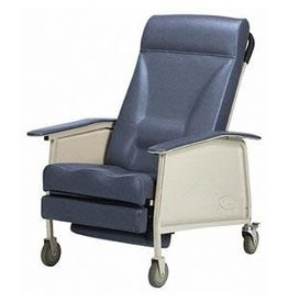 Invacare 3 Position Recliner - Deluxe Extra Wide - Blue Ridge