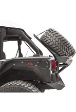 Fab Fours Fab Fours 07-17 Jeep Jk Slant Back Tire Carrier for The Y1261T