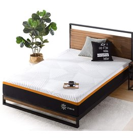 Zinus ZINUS 10 Inch Cooling Copper Adaptive Pocket Spring Hybrid Mattress/Moisture Wicking Cover/Cooling Foam/Pocket Innersprings for Motion Isolation/Mattress-in-a-Box, King