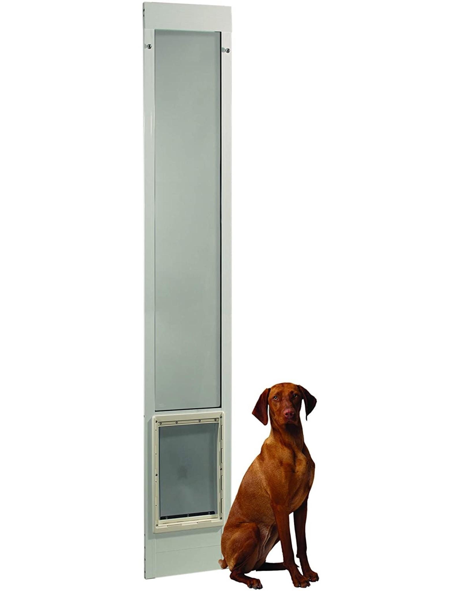 "Ideal Pet Products Ideal Pet Products 96PATSLW 96"" Fast Fit Aluminum Pet Patio Door, Super Large"