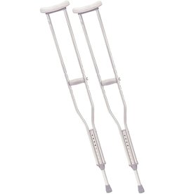 Drive Medical Drive Walking Crutches with Underarm Pad and Handgrip, Tall Adult, 1 Pair, Model - RTL10402