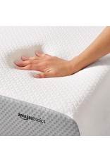 Amazon Basics 10-Inch Memory Foam Mattress - Soft Plush Feel, King