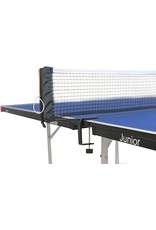 Butterfly Butterfly Junior Stationary Ping Pong Table - 3/4 Size Table Tennis Table - Space Saver Game Table for Game Room - Regulation Height Ping Pong Table - Sturdy Frame - Ships Assembled with Net