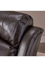 Christopher Knight Christopher Knight Home Gavin Bonded Leather Gliding Recliner, Brown
