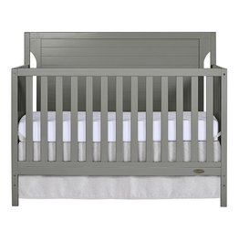 Dream On Me Dream On Me Cape Cod 5-in-1 Convertible Crib in Storm Grey, Greenguard Gold Certified