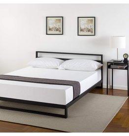 Zinus Zinus Trisha 7 Inch Platforma Bed Frame with Headboard / Mattress Foundation / Box Spring Optional / Wood Slat Support, King