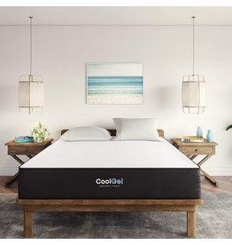 Classic Brands Classic Brands Cool Gel Ventilated Memory Foam 10-Inch Mattress | CertiPUR-US Certified | Bed-in-a-Box, California King