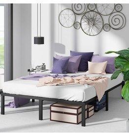 Zinus ZINUS Yelena Metal Platform Bed Frame / Steel Slat Support / No Box Spring Needed / Easy Assembly, Queen