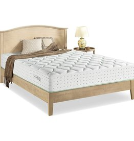 Zinus Zinus Italian Made 12 Inch Olive Oil Pocket Spring Hybrid Mattress / Made in Italy / OEKO-TEX Certified / Pocket Innersprings for Motion Isolation / Olive Oil Infused Memory Foam / Bed-in-a-Box, King