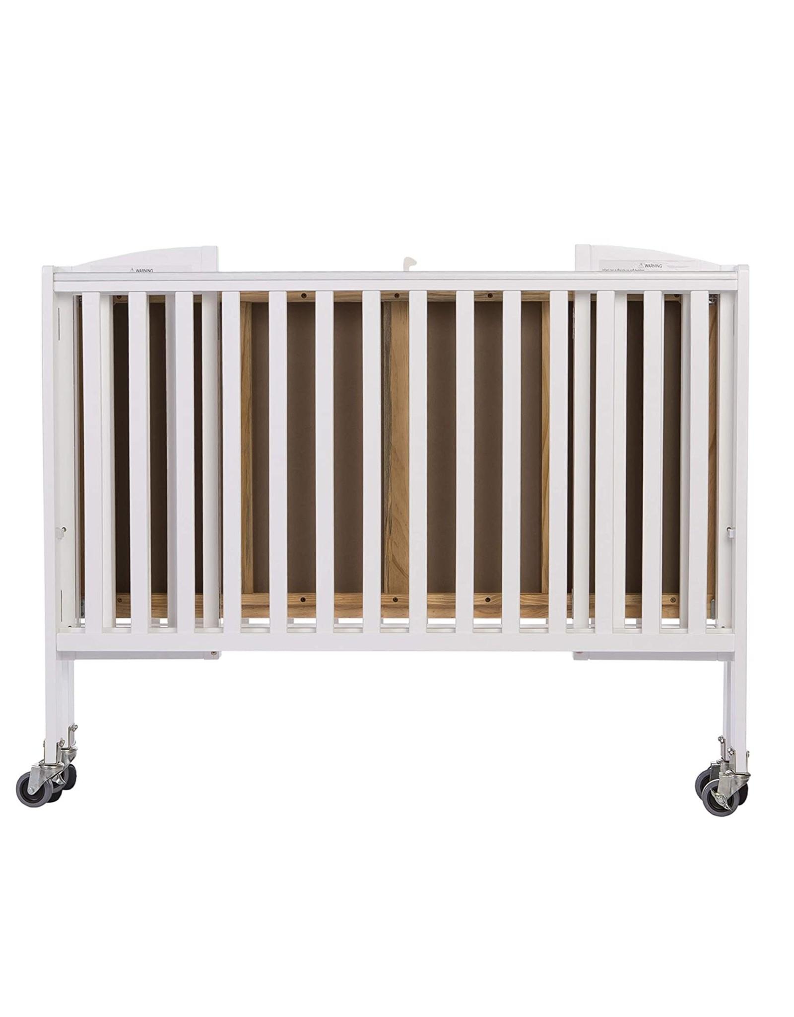 Dream On Me Dream On Me Folding Full Size Convenience Crib, White