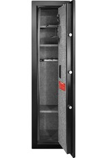 BARSKA Barska Quick and Easy Large Access Biometric Rifles, Firearms and Long Guns Safe for Home, Removable Shelves, Optional Silent Mode, 5.52 Cubic Feet, Up to 10 Rifles without any accessories