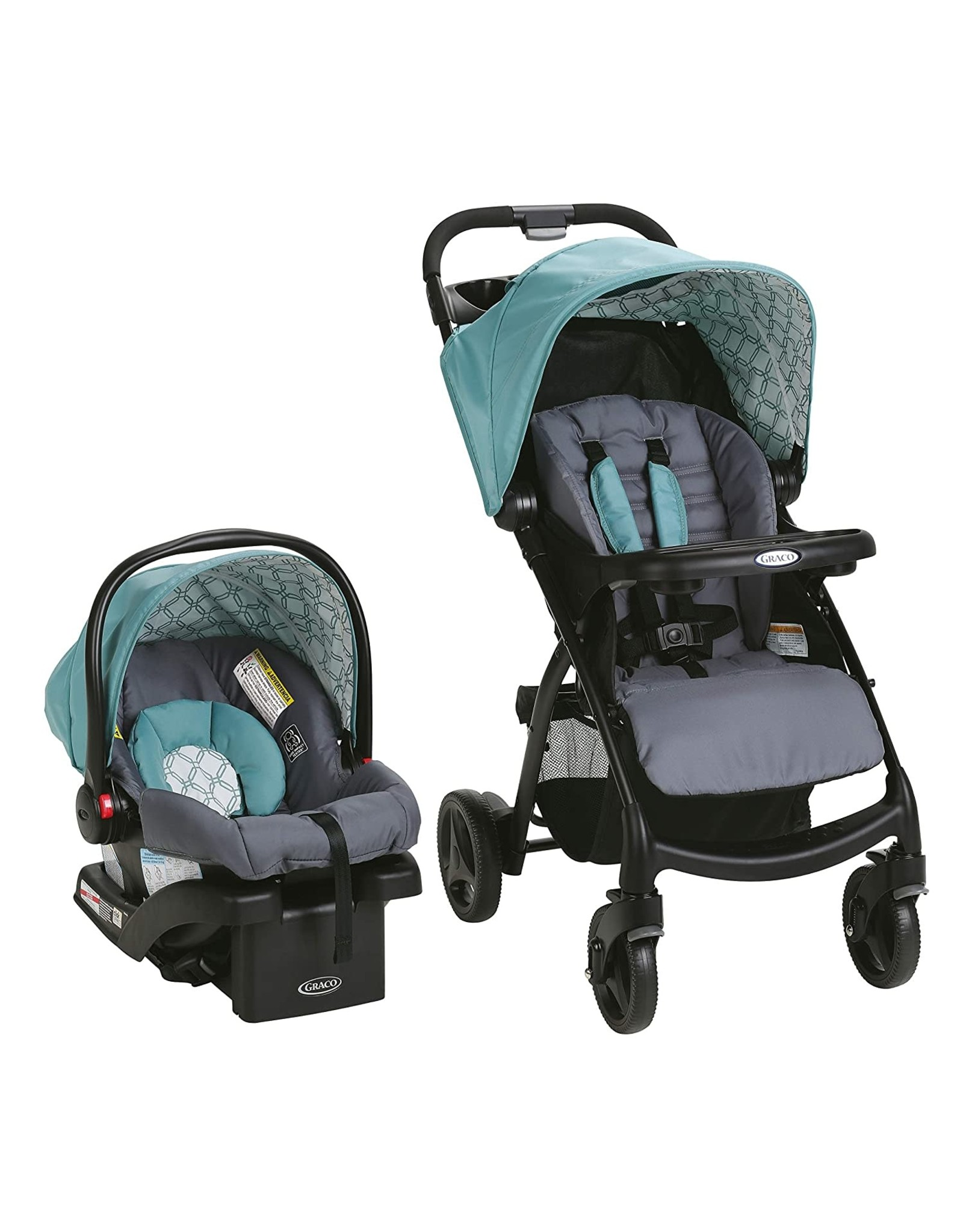 Graco Graco Verb Travel System   Includes Verb Stroller and SnugRide 30 Infant Car Seat, Merrick