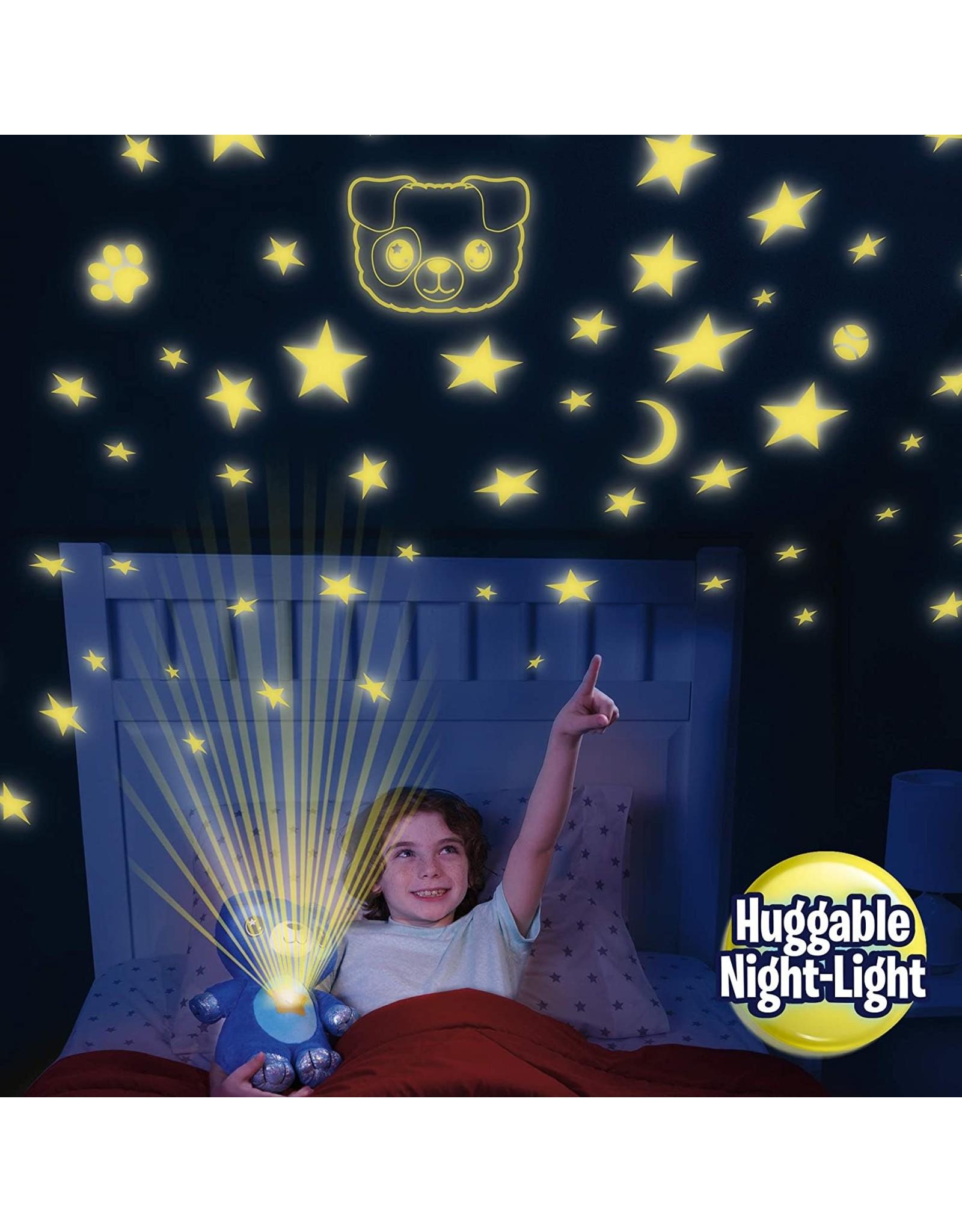 Ontel Ontel Star Belly Dream Lites, Stuffed Animal Night Light, Cuddly Blue Puppy