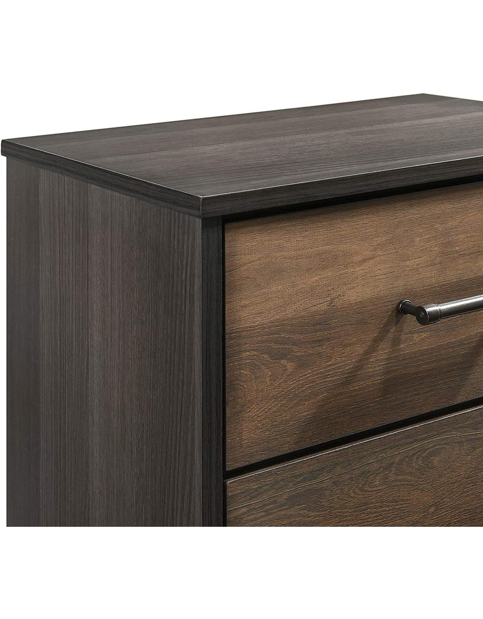 New Classic FURNITURE New Classic Furniture Timarron Nightstand, Two Tone