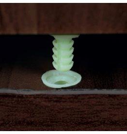 Niche Niche Mod Freestanding Pedestal Two Drawer Filing Cabinet, Truffle