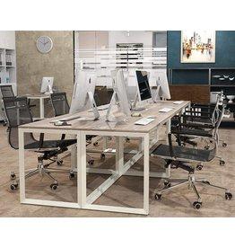 SHW SHW Triangle-Leg Home Office Computer Desk