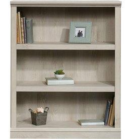 Sauder Sauder Select Collection 3 Shelf Bookcase, Chalked Chestnut finish