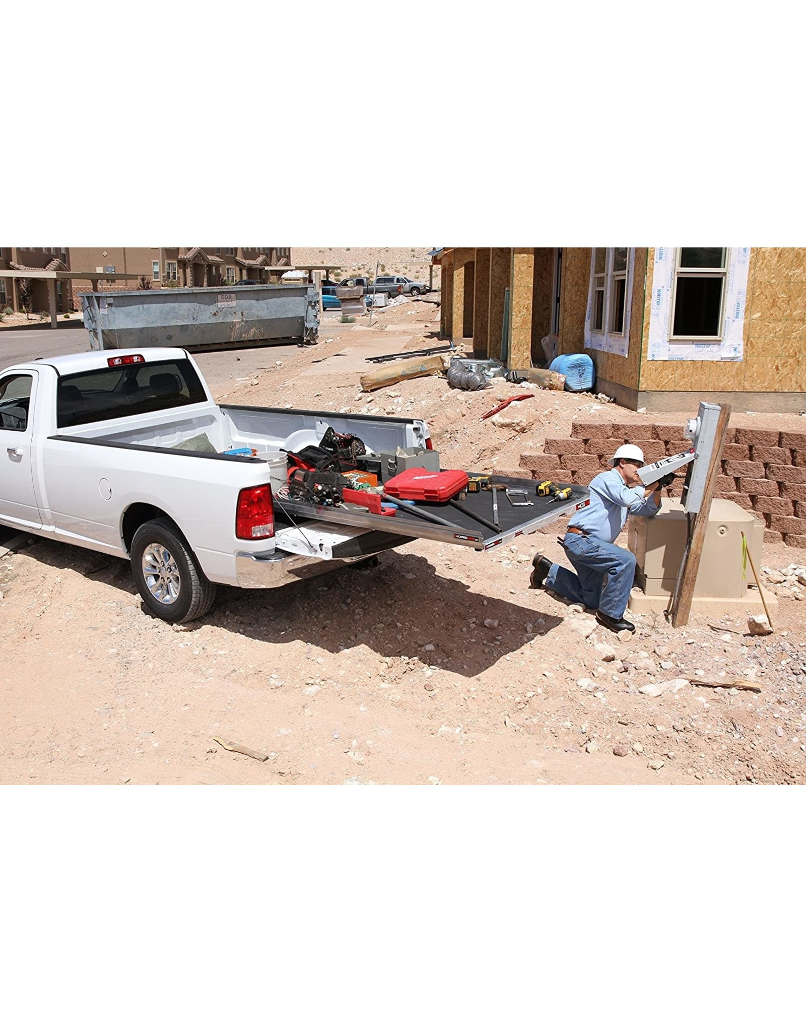 """CargoGlide CargoGlide CG1200-6548 - 1200 lb. Capacity 75% Extension Truck, Van and SUV Slide Out Tray - 65"""" Long & 49.25"""" Wide"""