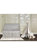Dream On Me Dream On Me Bailey 5-in-1 Convertible Crib, Dove Grey, Full size