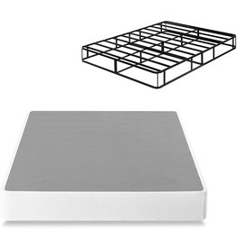 Zinus ZINUS 9 Inch Smart Metal Box Spring / Mattress Foundation / Strong Metal Frame / Easy Assembly, Full