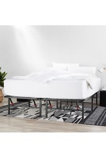 """Amazon Basics Foldable, 14"""" Metal Platform Bed Frame with Tool-Free Assembly, No Box Spring Needed - Twin XL"""