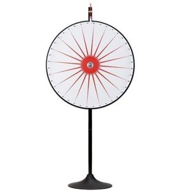"""MIDWAY MONSTERS 36"""" Custom Dry Erase White Prize Wheel with Extension Base and Extension Pole by Midway Monsters"""