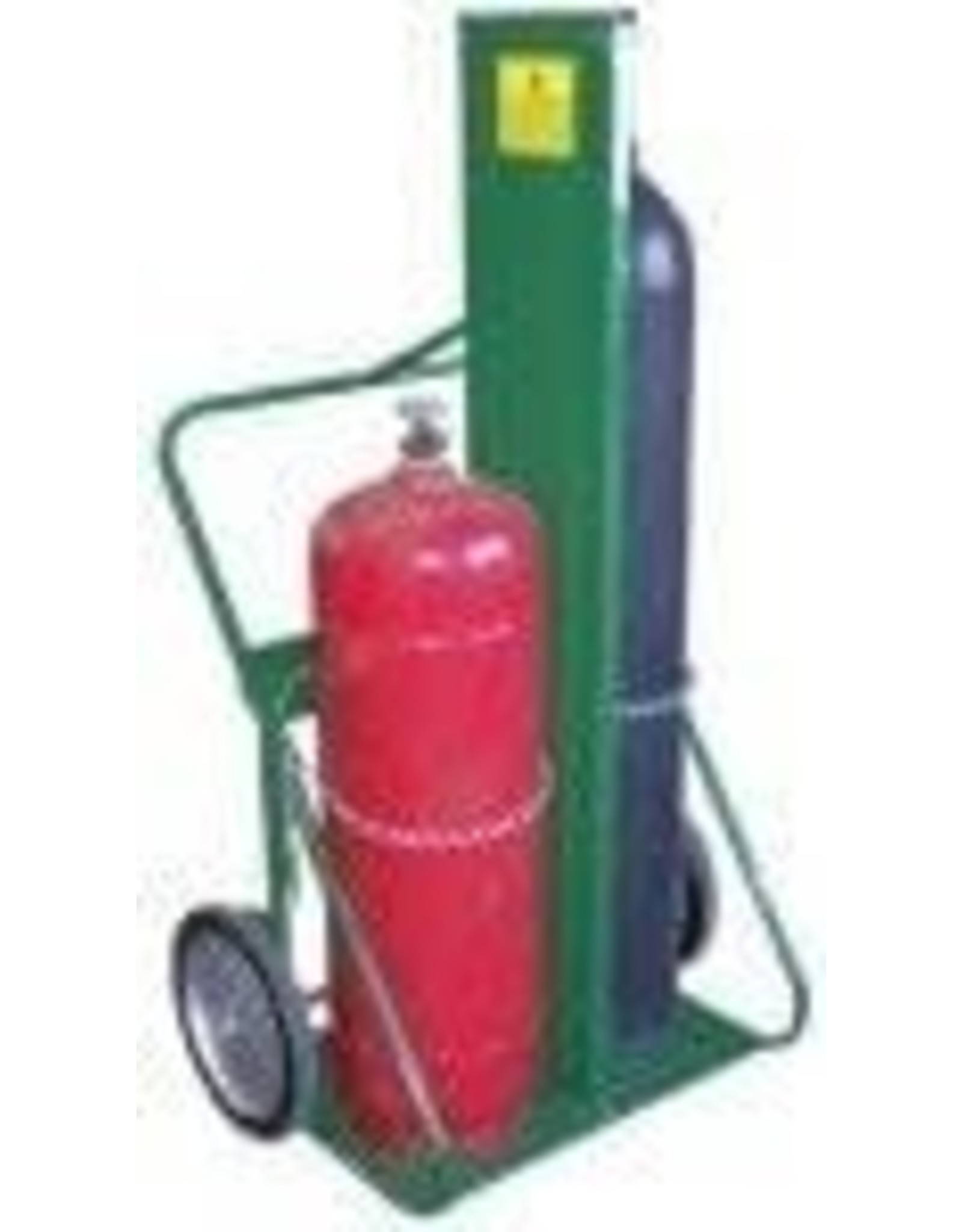 """Saf-T-Cart Saf-T-Cart 339-401-14FW 9 1/2""""-12 1/2"""" Dia 150 Series Carts with Holds 2 Cylinders with Firewall"""