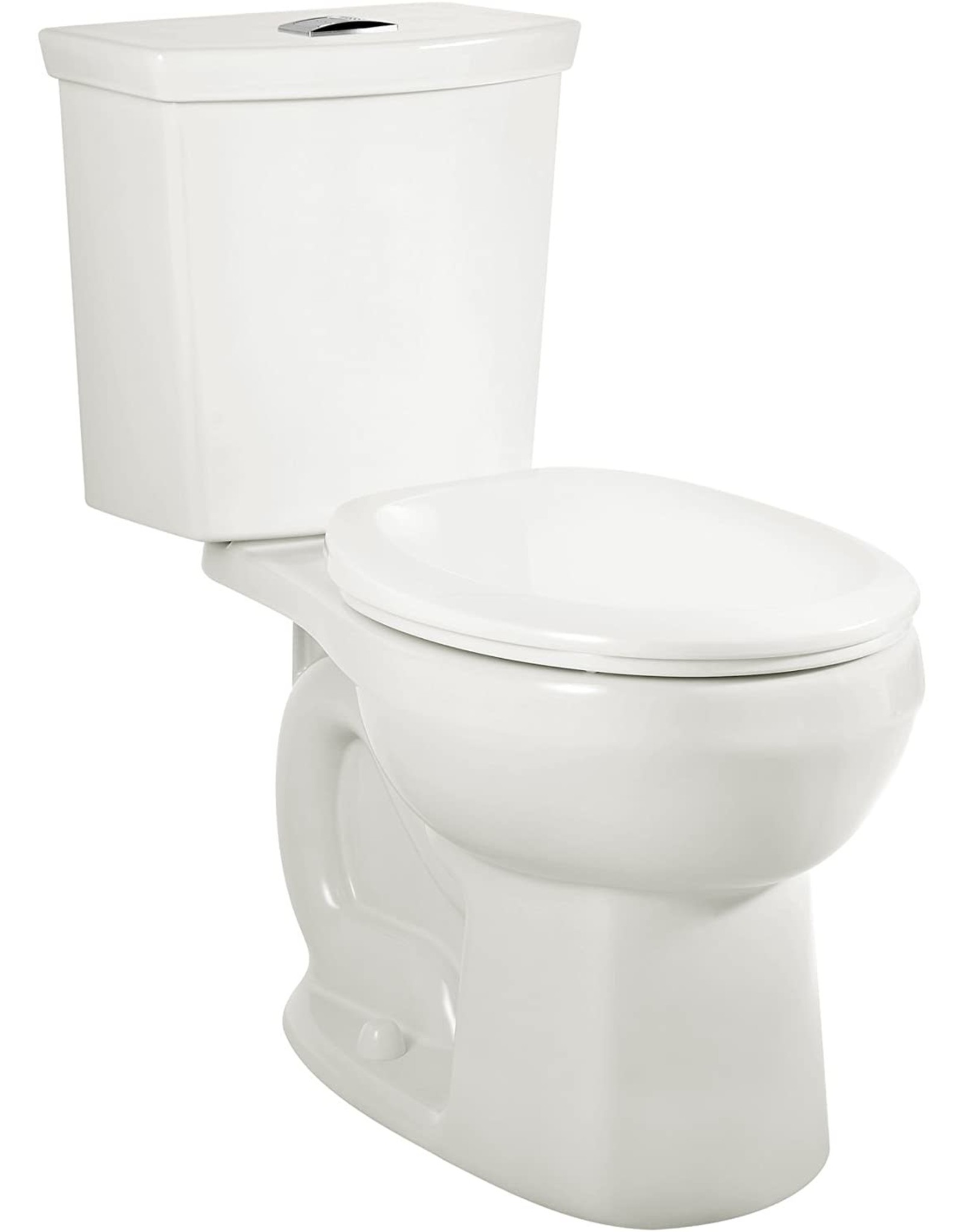 American Standard American Standard 2889518.020 H2Option Siphonic Dual Flush Normal Height Round Front Toilet with Liner, White, 2-Piece