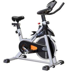 YOSUDA YOSUDA Indoor Cycling Bike Stationary - Cycle Bike with Ipad Mount &Comfortable Seat Cushion (Gray)