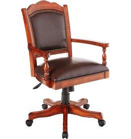 Hillsdale Hillsdale Furniture Nassau Game Chair, Brown