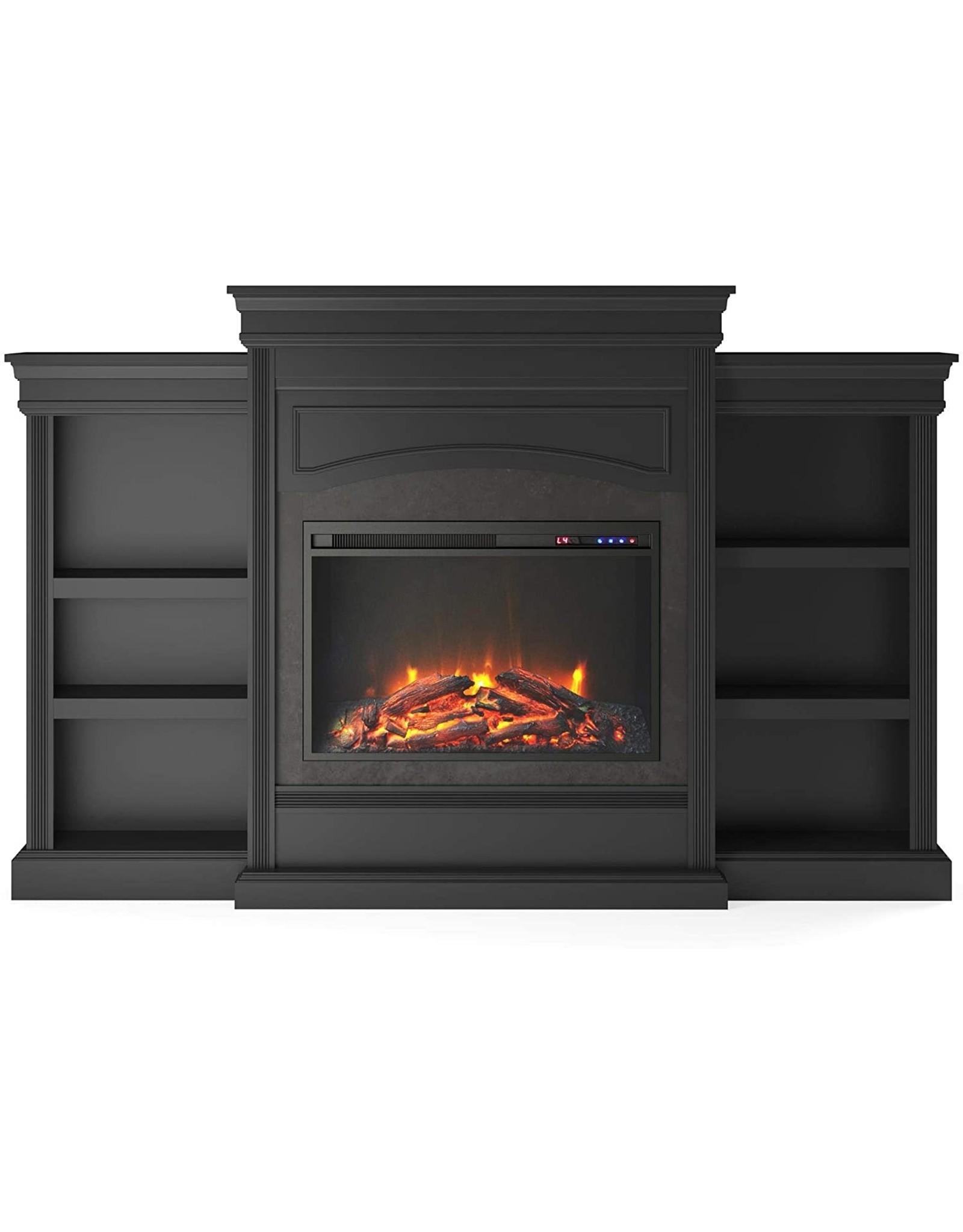 Ameriwood Home Ameriwood Home Lamont Mantel Fireplace, Black
