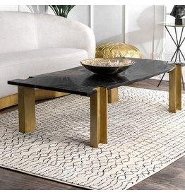 """nuLOOM nuLOOM Ripple Moroccan Eya Area Rug, 5' x 7' 5"""", Grey"""