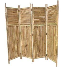 MGP MGP Bamboo Screen Divider with 4 Panels