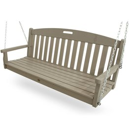 Trex Outdoor Furniture by Polywood Trex Outdoor Furniture Yacht Club Swing, Sand Castle