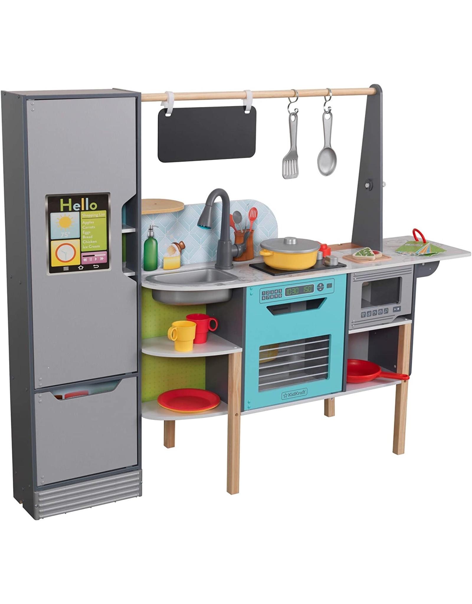 KidKraft KidKraft  Alexa Enabled 2-in-1 Kitchen & Market