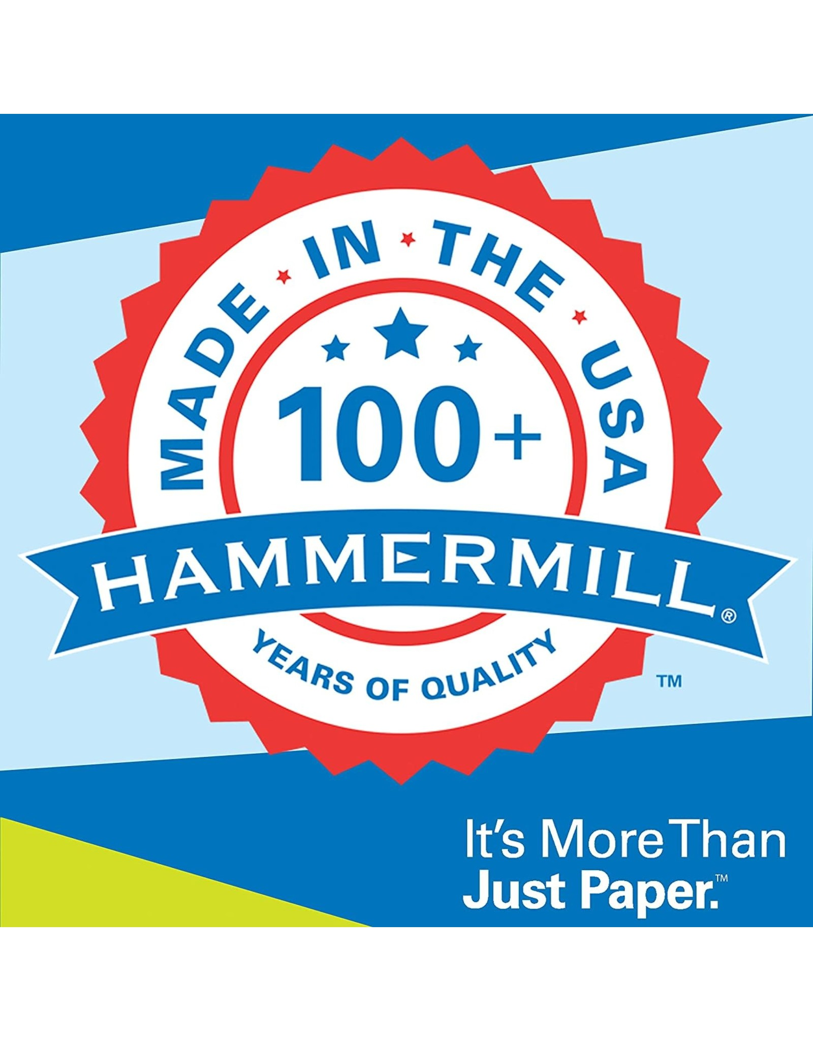 Hammermill Hammermill Printer Paper, 20 lb Copy Paper, 11 x 17 - 5 Ream (2,500 Sheets) - 92 Bright, Made in the USA, 105023C