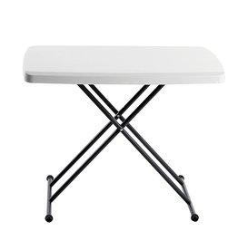 Iceberg Iceberg - ICE65490 IndestrucTable TOO 1200 Series Resin Personal Folding Table 30 x 20, Platinum