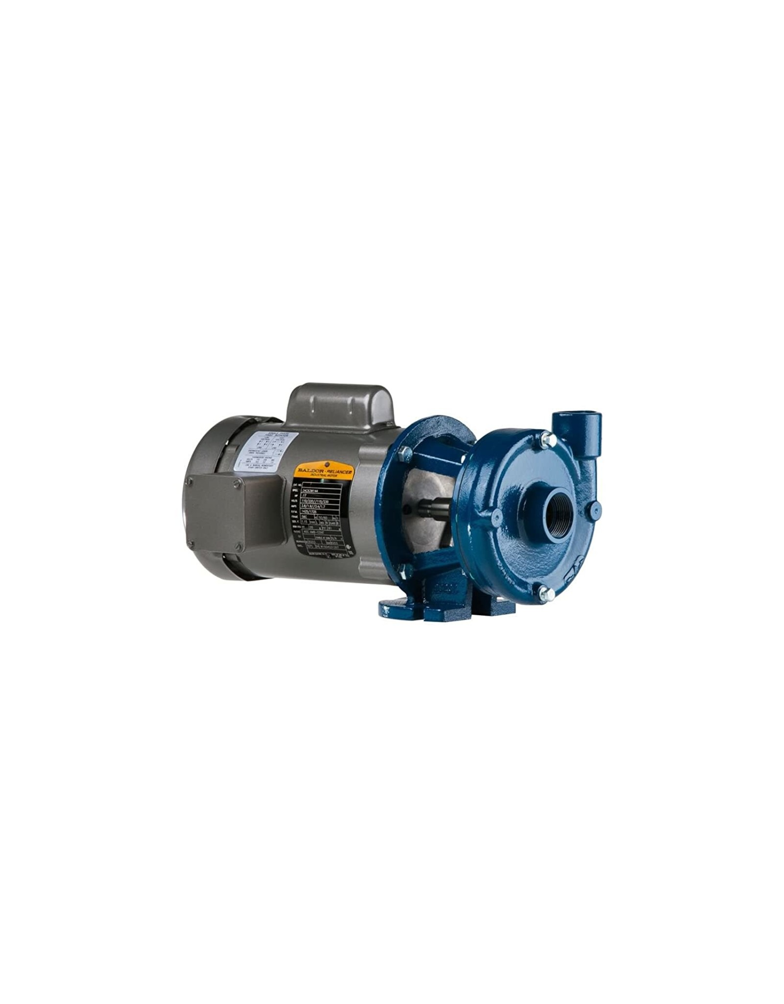 PRICE PUMP Price Pump CD150AI-494-6A111-300-36-1D6 Close Coupled Horizontal and Vertical Centrifugal Pumps, 3HP, Max 170 GPM, ODP Motor Enclosed, 170 GSM Maximum Flow Rate, Cast Iron