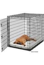 MidWest Homes for Pets Midwest SL54DD 'Ginormus' Single Door Dog Crate for XXL for the Largest Dogs Breeds, Great Dane, Mastiff, St. Bernard