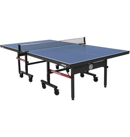 STIGA STIGA Advantage Pro Tournament-Quality Indoor Table Tennis Table 95% Preassembled Out of the Box with Professional-Level Net and Post Set