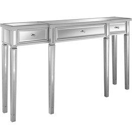 "Pulaski Pulaski Damon Mirrored Console Table, 59.0"" L x 12.25"" W x 33.0"" H"