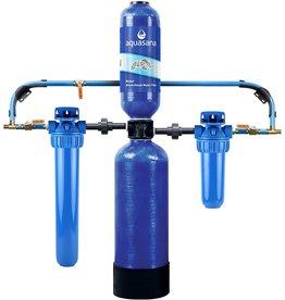 Aquasana Aquasana Whole House Water Filter System - Carbon & KDF Home Water Filtration - Filters Sediment & 97% Of Chlorine - 1,000,000 Gl - EQ-1000