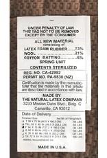 Eco Terra Eco Terra 11 Inch King Natural Latex Hybrid Mattress  Medium Mattress w/Encased Coil Springs